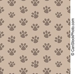 Seamless Texture with Trace of Cat