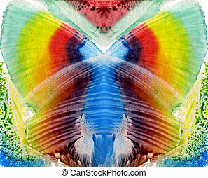 abstract butterfly - watercolors abstract butterfly as...