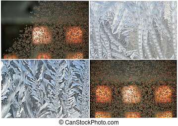 collage frozen a sample window