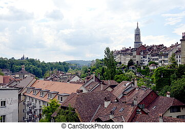 view of Berne in Switzerland