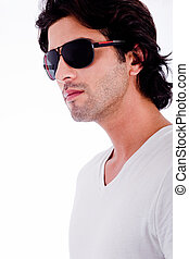 young man winth sunglasses