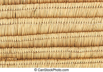 thatch roof patten background