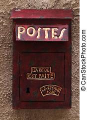 Vintage letter box - Vintage letter-box, retro, Sofia,...