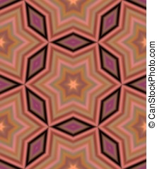 Kaleidoscope - Seamless pattern with abstract motif like a...