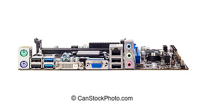 Electronic collection - Connector of computer motherboard -...