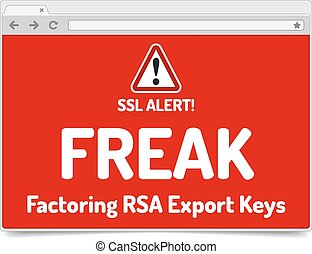 FREAK - Factoring RSA Export Keys Security - Warning in...