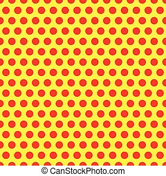 Dotted, Pop Art Background, Pop Art Pattern. Symbolic...