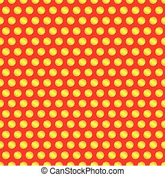 Dotted, Pop Art Background, Pop Art Pattern Symbolic...