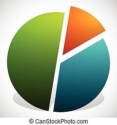 Pie Chart Vector Graphics Pie Chart, Pie Graph Element Pie...