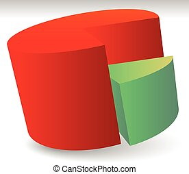 Pie Chart Vector Pie Chart, Pie Graph Element Pie Chart...