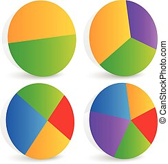 Pie Chart Vector Pie Chart, Pie Graph Elements Pie Chart...