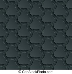 Dark perforated paper. - Dark perforated paper with cut out...