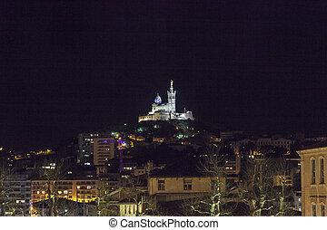 Notre Dame de la Garde in Marseille - Notre Dame de la Garde...