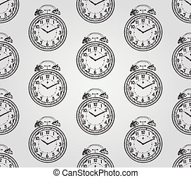 Vintage Hand Drawn Seamless Pattern - Vintage Seamless Hand...