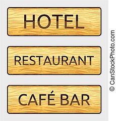 hotel sign board - otel sign board