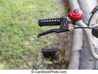 Detail of a Bike HandleBar