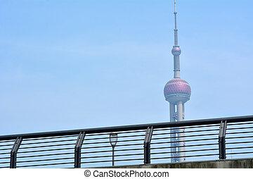 Shanghai - Oriental Pearl Tower - SHANGHAI, CN - MAR 15...
