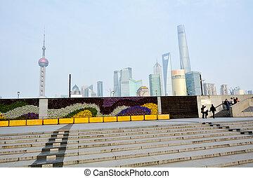 Shanghai - Pudong New Area - SHANGHAI, CN - MAR 15...
