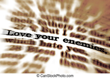 Scripture Quote Love Your Enemies