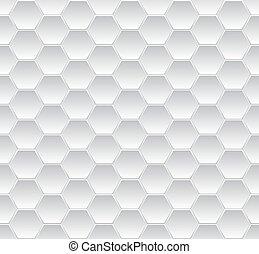 Zeshoekig, mosaic, ,