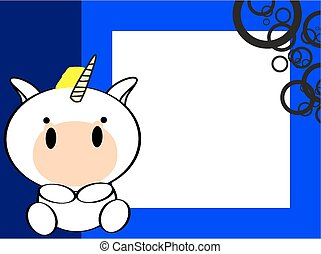cute baby unicorn picture frame9