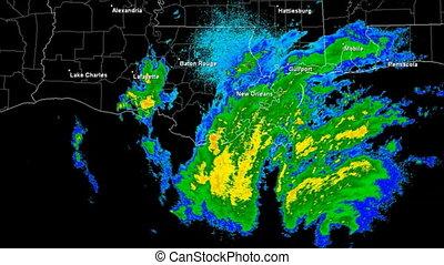 Hurricane Gustav 2008 Landfall - Hurricane Gustav Doppler...