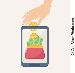 Mobile Banking Concept Design with