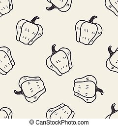 Bell pepper doodle