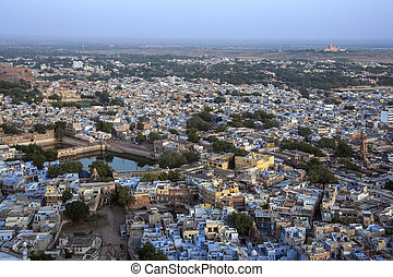 City of Jodhpur - India - The city of Jodhpur viewed from...