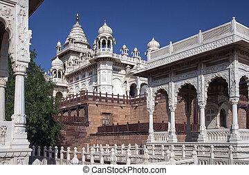 Marble Cenotaph - Jodhpur - India - Marble Cenotaph of...