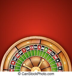 Roulette - Background with roulette. Casino background....