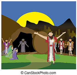 I am the resurrection - John 11:1-44. Even it was very...
