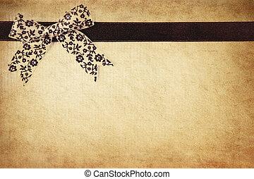 Grunge ribbon
