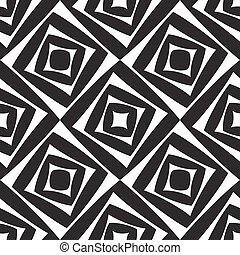 Seamless Squares Pattern - Vector Abstract Seamless Squares...