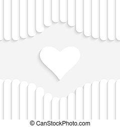 Valentine Background - Abstract Vector White Valentine...