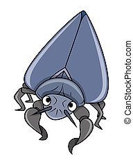 Cartoon Bug Vector