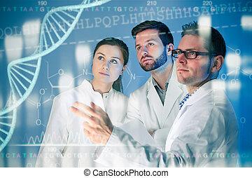 genético, ingeniería,