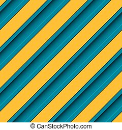 Blue and Yellow Stripes Background - Vector Abstract Blue...