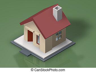 home icon - housing construction business or property...