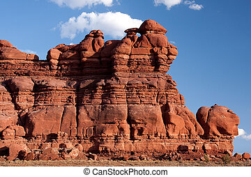 Canyonlands National Park is located near the city of Moab,...