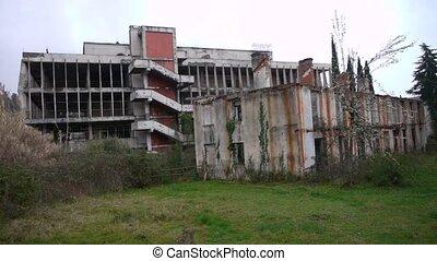 Abandoned Building in Garden 2