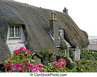 Cadgwith, Lizard Peninsula, Cornwall, UK, Southwest England