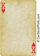 playing card - Background, object: Playing Card: King of...
