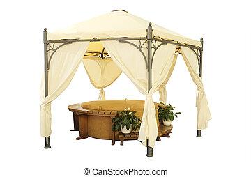 garden tent - Luxury garden tent