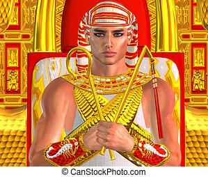 ramses, egipcio, faraón, fantasía