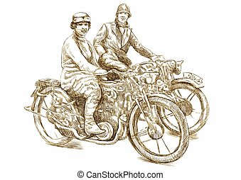 Girls on a Motorcycles