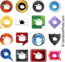 teapot variety icon