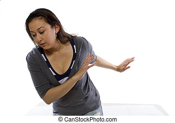 Unconscious Woman