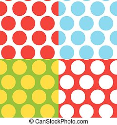 Simple Abstract Seamless Pattern Vector Illustration