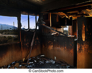 Dilapidated House - abandoned house at the Salton Sea